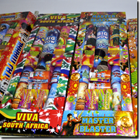 Firecrackers sold in Janelco White River